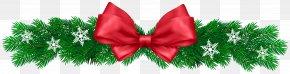Christmas Pine Decor Clip Art Image - Christmas Decoration Clip Art PNG