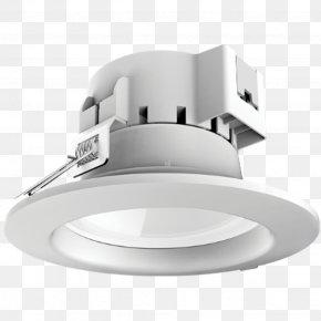 Downlight - Recessed Light Light-emitting Diode Light Fixture LED Lamp PNG