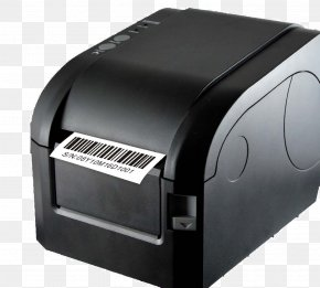 Printer - Barcode Printer Label Printer Point Of Sale PNG