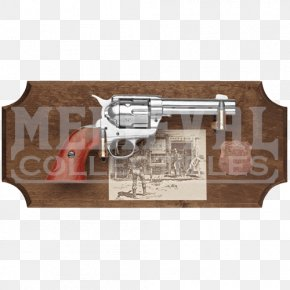 Valentine's Day X Display - Wyatt Earp Revolver Gun Colt Single Action Army Pistol PNG