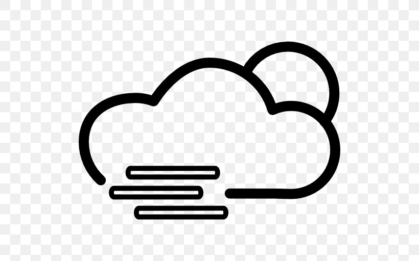 Cloud Fog Rain Wind Outline, PNG, 512x512px, Cloud, Area, Black And White, Drop, Fog Download Free