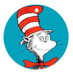 Dr. Seuss Clipart - The Cat In The Hat Comes Back Green Eggs And Ham T-shirt Fox In Socks PNG