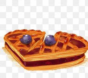 Blueberry Pie - Chocolate Cake Waffle Chicken Blueberry Pie Sundae PNG