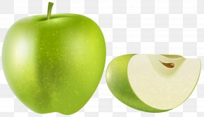 Green Apple Transparent Clip Art Image - Granny Smith Apple Fruit Clip Art PNG