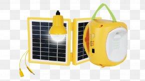Solar Generator - Battery Charger Emergency Lighting Solar Lamp Light-emitting Diode PNG
