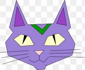 Free Cat Vector - Cat Kitten Cartoon Clip Art PNG