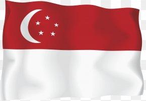 SINGAPORE - Flag Of Singapore National Flag PNG