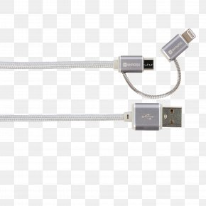 USB - Battery Charger Micro-USB Data Cable Lightning PNG
