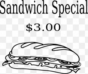 Special Education Clip Art - Submarine Sandwich Clip Art PNG