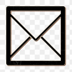 Triangle Send Icon - Envelope Icon Letter Icon Mail Icon PNG