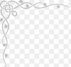 Gray Border Frame Clipart - Border Clip Art PNG