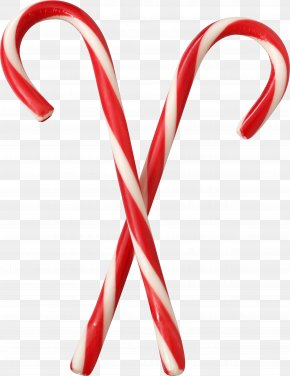 Candy - Candy Cane Stick Candy Lollipop Eggnog PNG