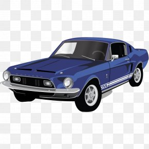 Muscle Car Mustang GT - Classic Car Automotive Exterior Muscle Car Brand PNG