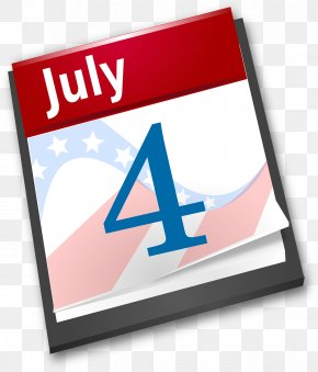 Independence Day July 4th - United States Declaration Of Independence Independence Day Calendar Clip Art PNG