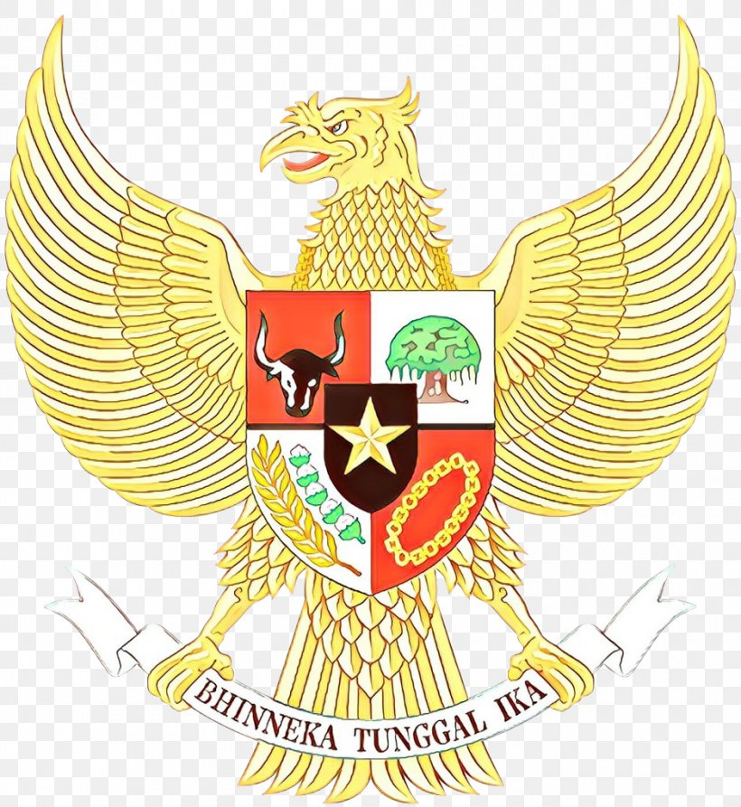 National Emblem Of Indonesia Pancasila Clip Art Garuda Png