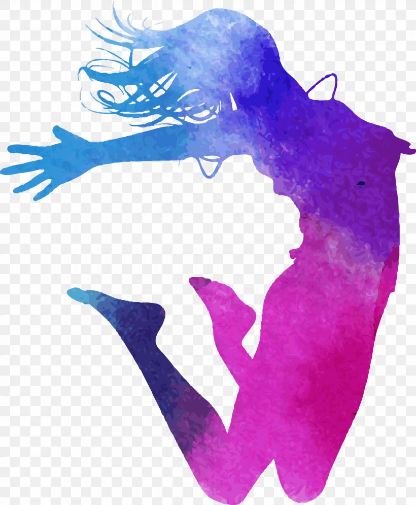 Dance Watercolor Painting Royalty Free Illustration Png 2067x2509px Dance Art Jumping Magenta Photography Download Free