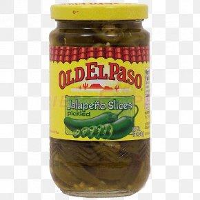 Jalapenos - Refried Beans Taco Vegetarian Cuisine Pickled Cucumber Old El Paso PNG