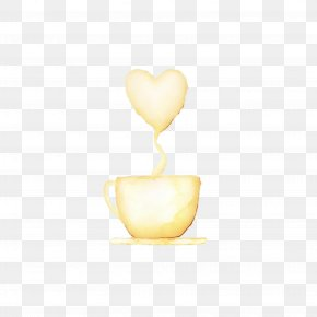 Beige Heart - Yellow Heart Beige PNG