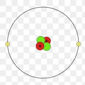 Helium - Helium Atom Bohr Model Chemistry PNG