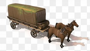 Horse Chariot - Wagon Vehicle Carriage Cart Mode Of Transport PNG