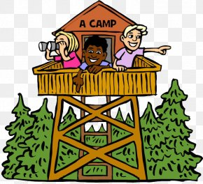 Child - Clip Art Summer Camp Openclipart Camping Day Camp PNG