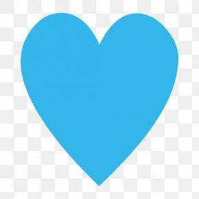 Blue - Heart Blue Clip Art PNG
