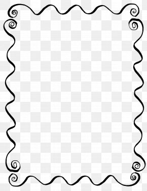 Line Frame - Line Art Picture Frames Drawing Clip Art PNG