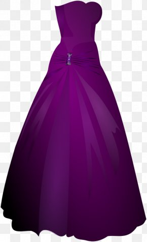 Formal Cliparts - Gown Party Dress Formal Wear Clip Art PNG