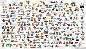 Nintendo File - Mega Man Video Game Pixel Art Character 8-bit Color PNG