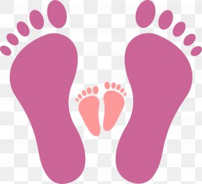 Big Footprints And Small Footprints - Download Icon PNG