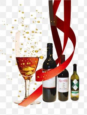 Luxury Three-piece Red Wine - Red Wine White Wine Computer File PNG
