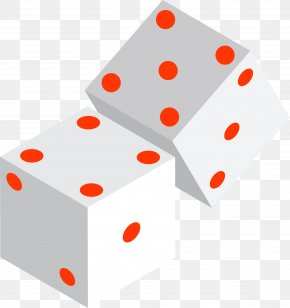 Hand Drawn White Dice Dots - Dice Point Download PNG