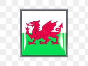 Flag Of Wales - Flag Of Wales Welsh Dragon Flag Of Nigeria PNG