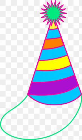 Birthday Decoration Cliparts - Party Hat Birthday Clip Art PNG