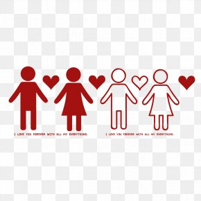 Couple Holding Hands - Woman Icon PNG