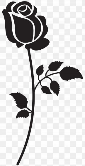 Rose Silhouette Clip Art Image - Silhouette Song Clip Art PNG