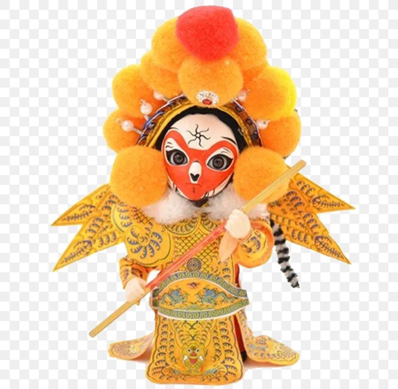Beijing Sun Wukong Doll Peking Opera Chinese Opera, PNG, 800x800px, Beijing, Black And White, Cartoon, China, Chinese Opera Download Free