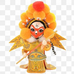 Monkey King Opera People - Beijing Sun Wukong Doll Peking Opera Chinese Opera PNG