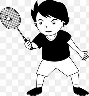 Play Badminton - Badminton Sport Racket Shuttlecock Clip Art PNG