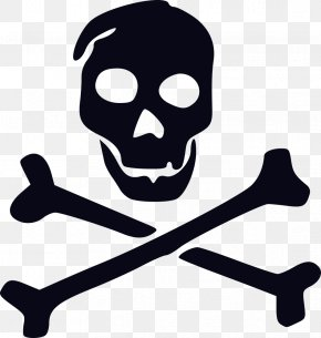 Pirate - Jolly Roger Pirate Skull And Crossbones Clip Art Flag PNG