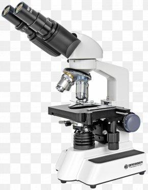 Microscope - Optical Microscope Light Bresser Eyepiece PNG