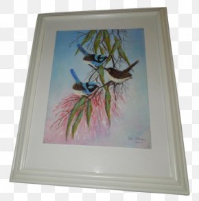 Painting - Watercolor Painting Picture Frames Modern Art PNG