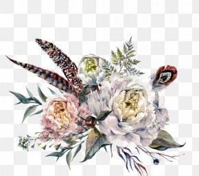 Flower - Flower Bouquet Floral Design Watercolor Painting Stock Photography PNG