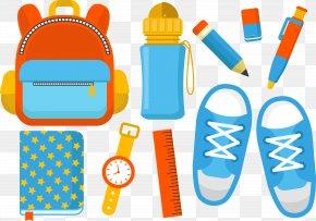 Vector School Supplies - School Supplies Clip Art PNG