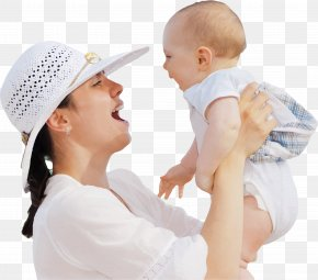 Funny Mother And Baby - Mother Surrogacy Clip Art PNG