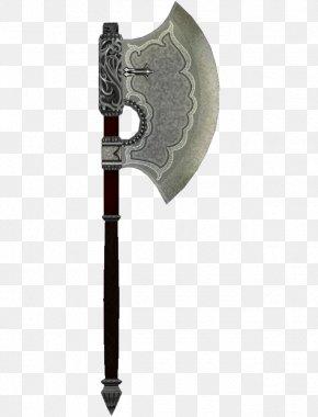 Axe - Battle Axe Dane Axe Weapon The Elder Scrolls V: Skyrim PNG