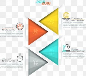 Triangle Business Presentation PPT Vector Material - Logo Infographic Adobe Illustrator Presentation PNG
