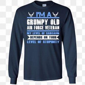 Air Force One - Long-sleeved T-shirt Hoodie Top PNG