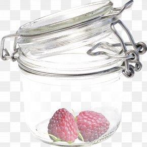 Strawberry Jar - Glass Bottle Glass Bottle Transparency And Translucency PNG