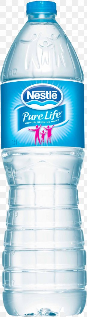 Water Bottle Image - Nestlé Pure Life Mineral Water Nestlé Waters North America Bottled Water PNG